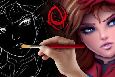 فیلم آموزشی Character Art School: Complete Coloring and Painting Course-Udemy24.ir