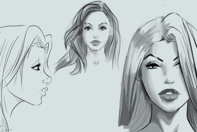 فیلم آموزشی Learn to Draw Pretty Faces for Comic Books-Udemy24.ir