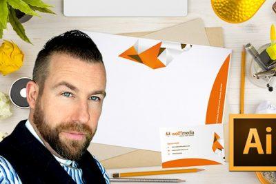فیلم آموزشی Business Card and Letterhead Design in Adobe Illustrator