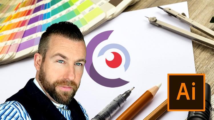 فیلم آموزشی Logo Design in Adobe Illustrator - for Beginners & Beyond